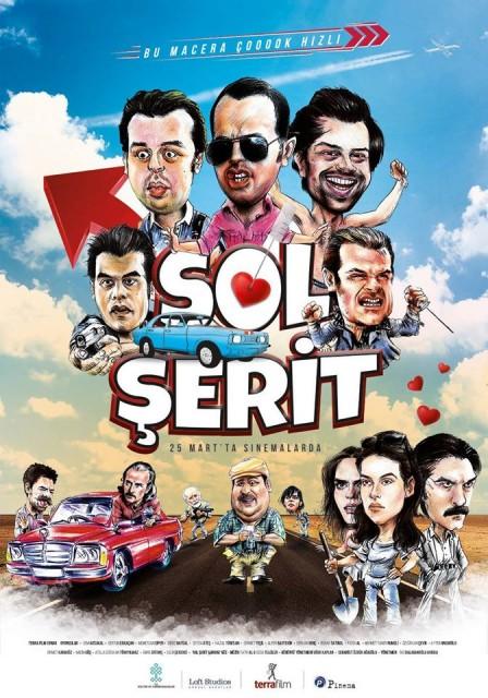 Sol Şerit Full HD 2016 izle