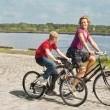 Bisikletli Çocuk Resimleri