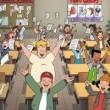 Tenefüs Zili: Okullar Kapandı Resimleri