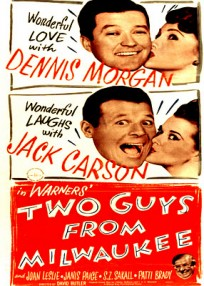 Two Guys From Milwaukee (1946) afişi
