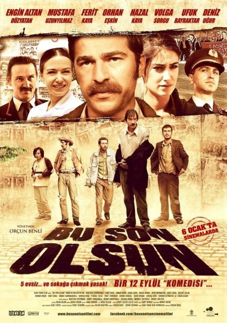 Bu Son Olsun (2012) afişi