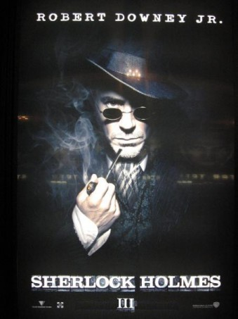 Sherlock Holmes 3 (1) afişi