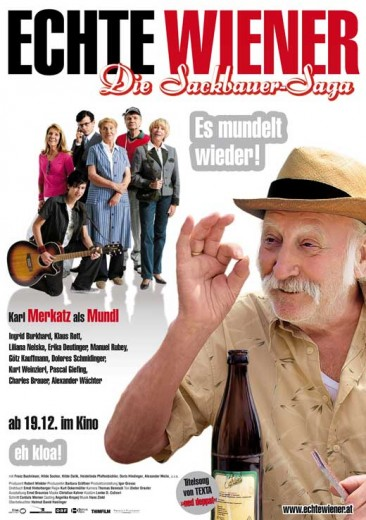 Echte Wiener - Die Sackbauer-Saga (2008) afişi
