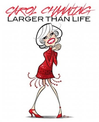 Carol Channing: Larger Than Life (2012) afişi