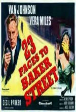 23 Paces To Baker Street (1956) afişi