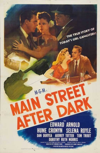 Main Street After Dark (1945) afişi