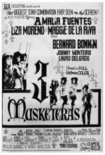 3 Musketeras (1964) afişi