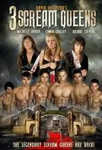 3 Scream Queens (2014) afişi