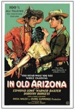 In Old Arizona (1928) afişi