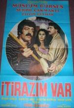İtirazım Var (1981) afişi