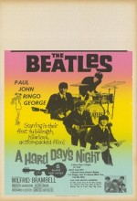 A Hard Day's Night (1964) afişi
