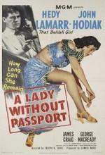 A Lady Without Passport (1950) afişi