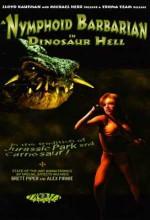A Nymphoid Barbarian ın Dinosaur Hell (1991) afişi