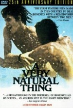 A Very Natural Thing (1974) afişi