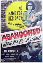 Abandoned (1949) afişi