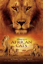Afrika Kedileri (2011) afişi