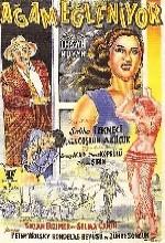 Agam Eğleniyor (1955) afişi