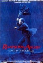 Ağustos'ta Rapsodi (1991) afişi