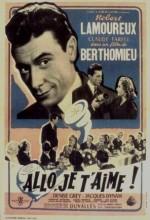 Allô... Je T'aime (1952) afişi