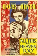 All This, And Heaven Too (1940) afişi