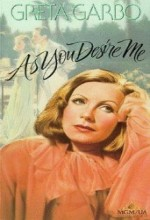 As You Desire Me (1932) afişi