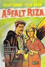 Asfalt Rıza (1964) afişi