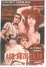 Aşk Arzu Silah (1970) afişi