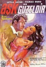 Aşk Güzeldir (1962) afişi