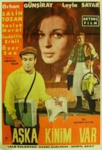 Aşka Kinim Var (1962) afişi