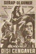 Asyalı Dişi Cengaver (1969) afişi