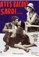 Ateş Bacayı Sardı (1961) afişi