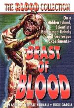 Beast Of Blood (1971) afişi