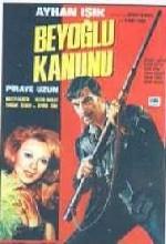 Beyoğlu Kanunu (1971) afişi