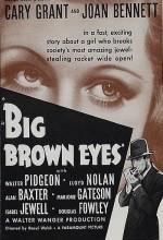 Big Brown Eyes (1936) afişi