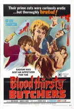 Blood Thirsty Butchers (1970) afişi