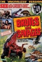 Brutes And Savages (1978) afişi
