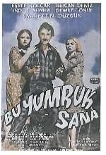 Bu Yumruk Sana (1970) afişi