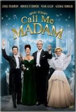 Call Me Madam (1953) afişi