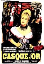 Casque D'or (1952) afişi