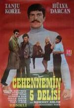 Cehennemin Beş Delisi (1972) afişi