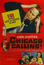 Chicago Calling (1952) afişi
