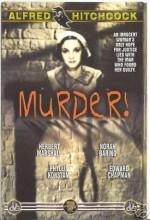 Cinayet (1930) afişi