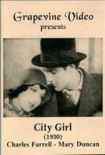City Girl (1930) afişi