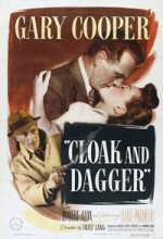 Cloak And Dagger (1946) afişi