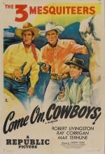 Come On, Cowboys (1937) afişi