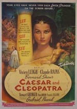 Caesar and Cleopatra (1945) afişi