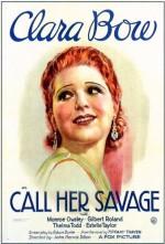 Call Her Savage (1932) afişi