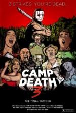 Camp Death III: The Final Summer (2016) afişi