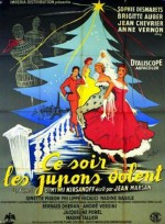 Ce soir les jupons volent (1956) afişi