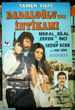 Dadaloğlunun intikamı (1972) afişi